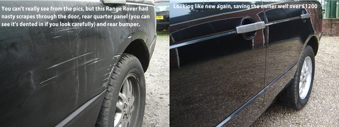 Range Rover owner saves over �1200