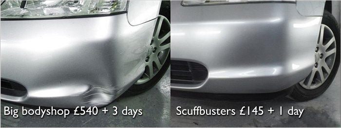 New bumper on Suzuki? we don't think so...